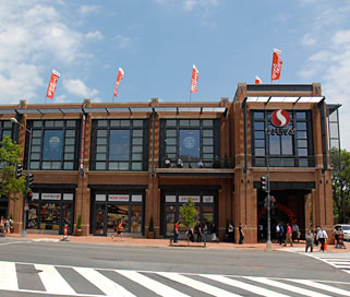 Georgetown Shops in Washington, D.C.
