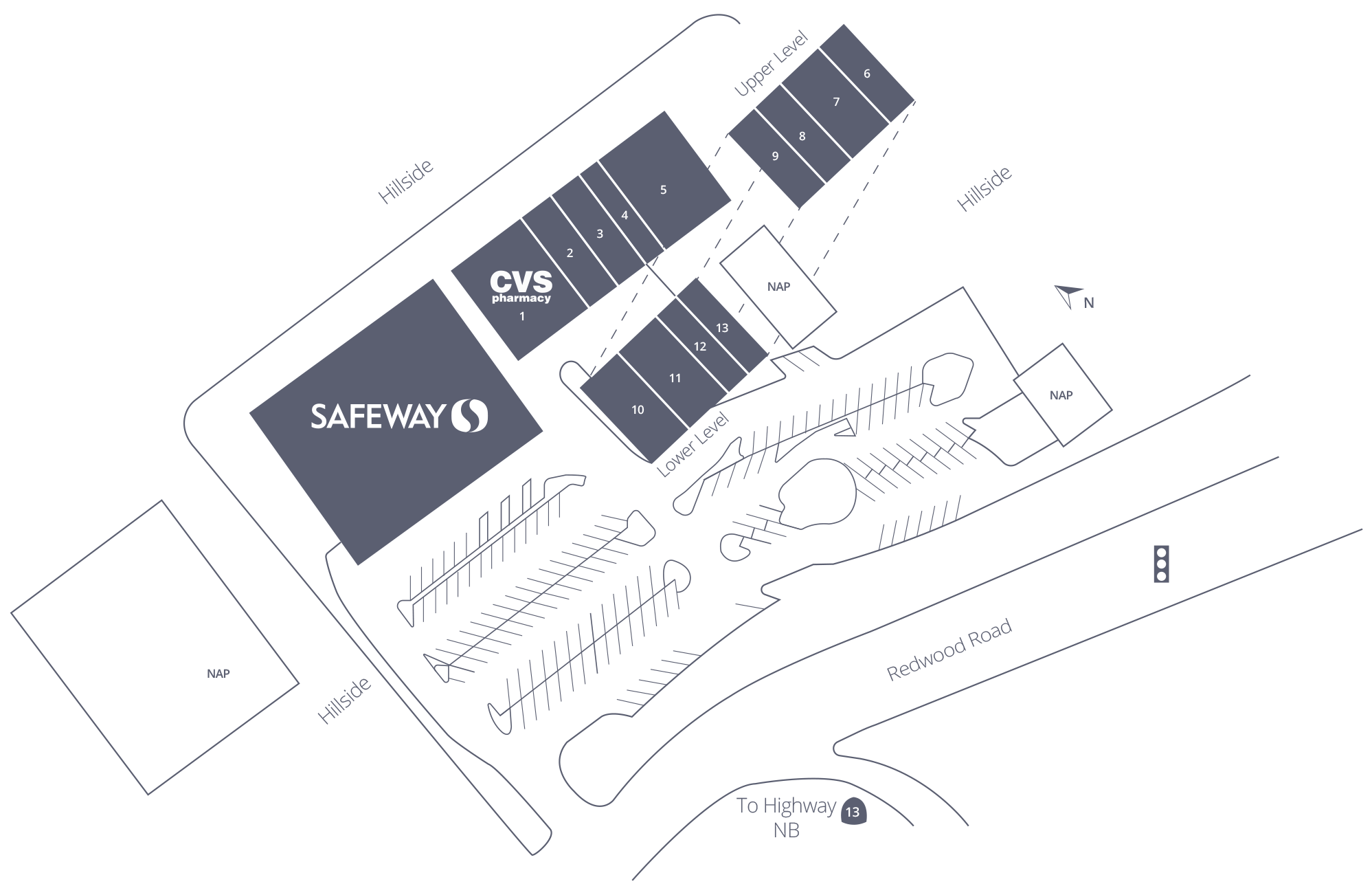 Lincoln Square Shopping Center Site Plan