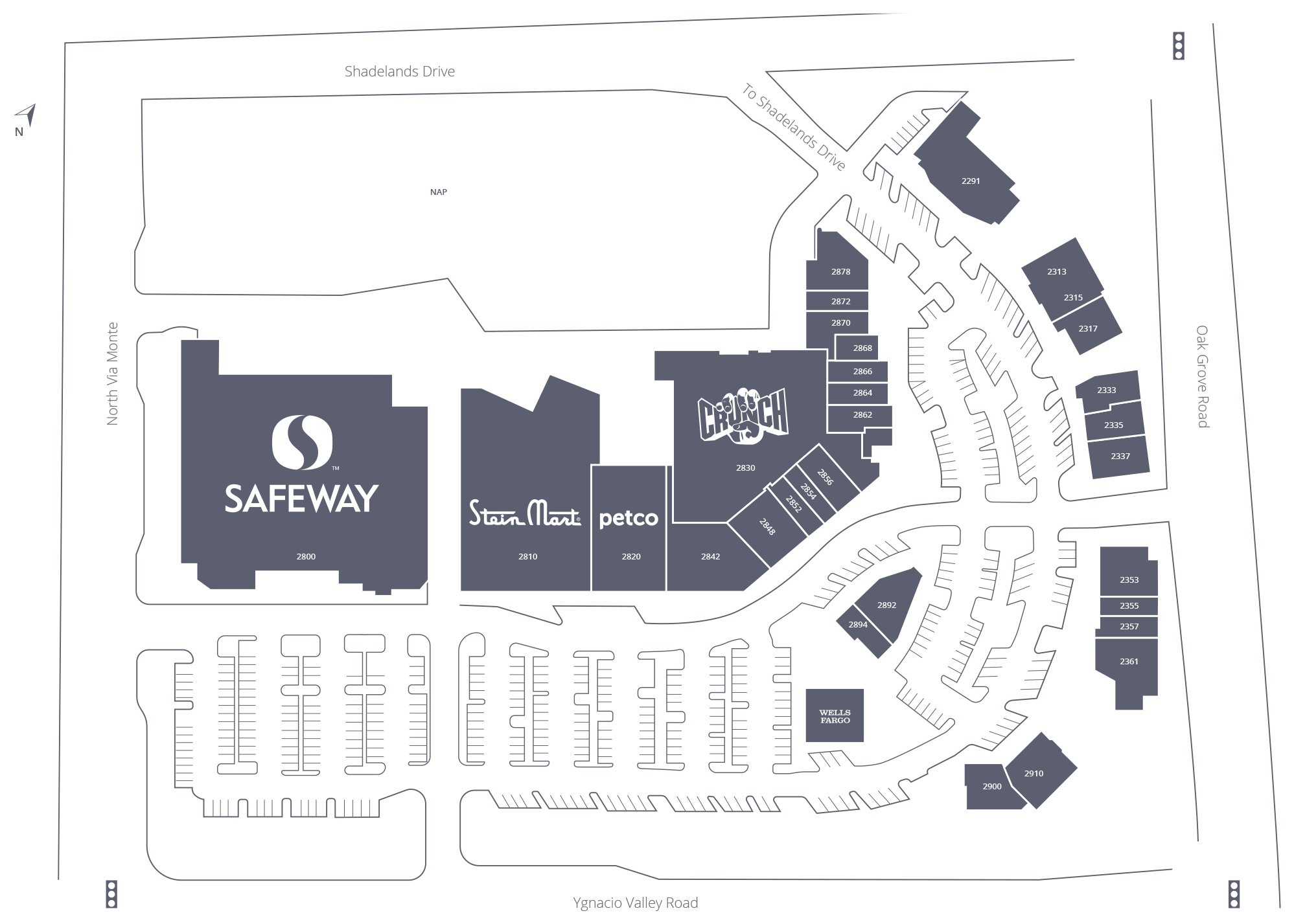 The Orchards at Walnut Creek Site Plan
