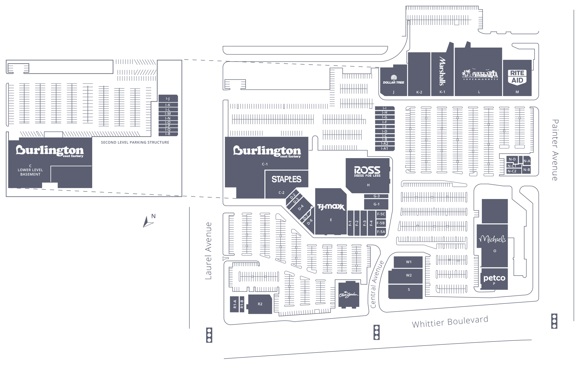 The Quad at Whittier Site Plan